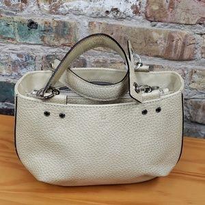 Kate Spade cream leather mini bag